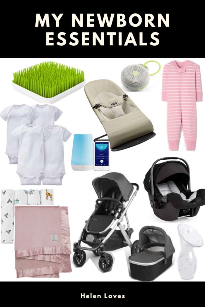 Sharing the essentials you need for the newborn phase - click for exact details and what you absolutely need! // Helen Loves