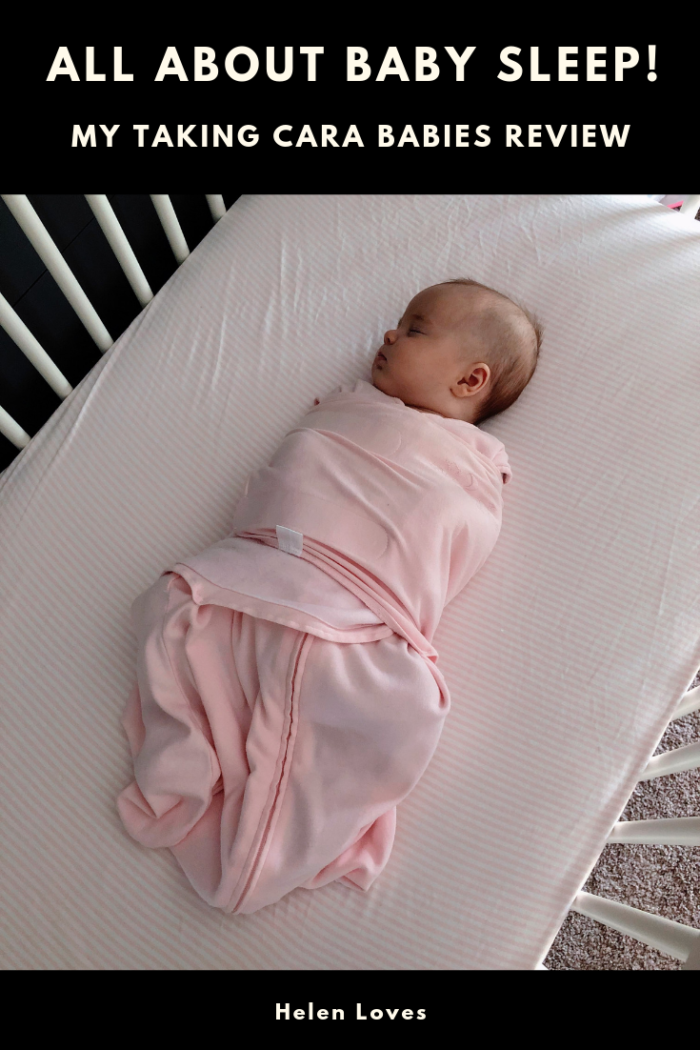 All about baby sleep - my Taking Cara Babies Review! // Helen Loves