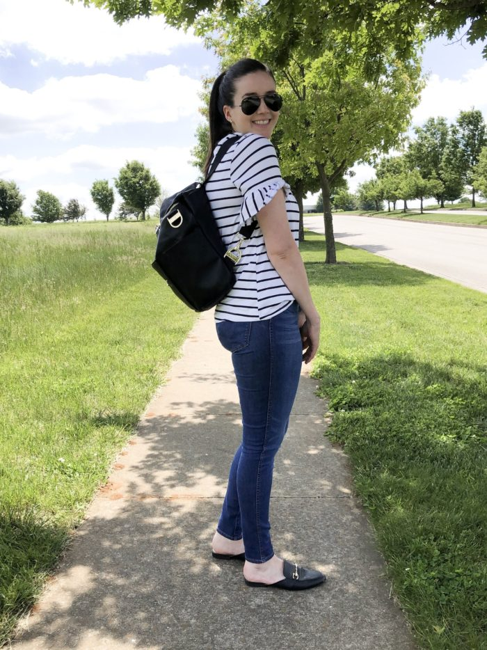 An easy outfit for #momlife // Helen Loves